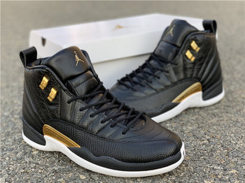 WMNS Air Jordan 12  Midnight Black