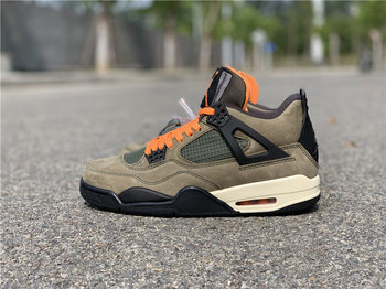 Air jordan 4 X Undefeated Travis Scott