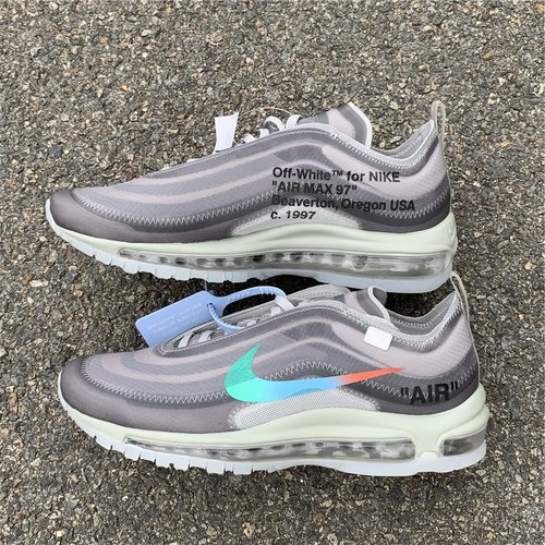 """uk availability db20d 81801 OFF-WHITE x Nike Air Max 97 """"Menta"""" size 5-11"""