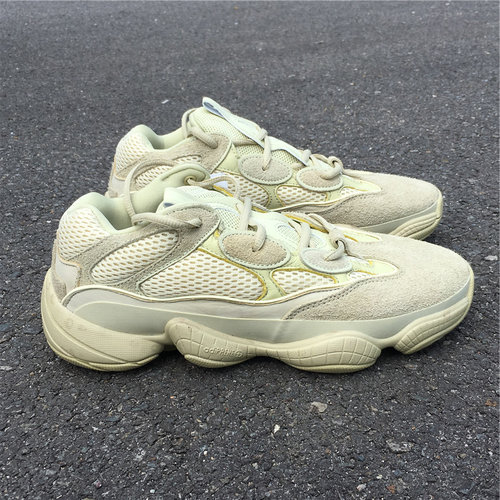 "new product 9dab7 db634 Adidas Yeezy Desert Rat 500 ""Supermoon Yellow"""