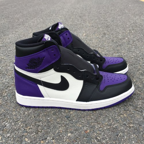 sports shoes 9abec 0726c Air Jordan 1 Court Purple size 8-12