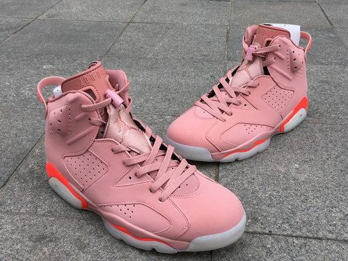 """wholesale dealer 755e3 556ff Air Jordan 6 """"Millennial Pink"""" men 7.5-13"""