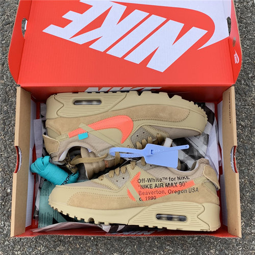 "save off 6770c c930e OFF-WHITE x Nike Air Max 90 ""Desert Ore SIZE 5.5-12"
