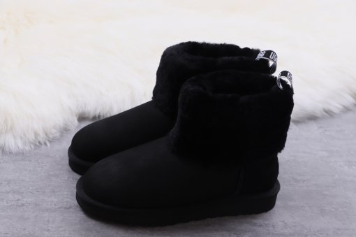 UGG Fluff Mini Quilted black size 5-9