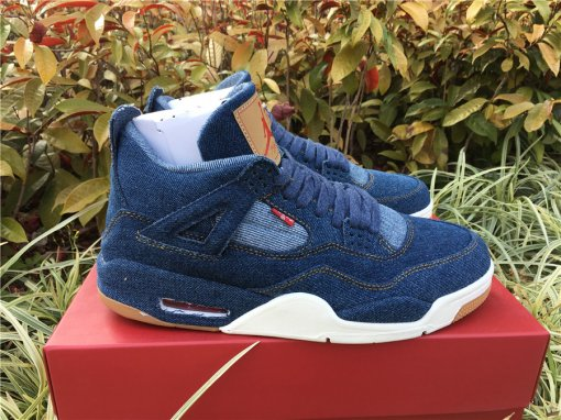Levi's x Air Jordan 4 men size 7.5-12