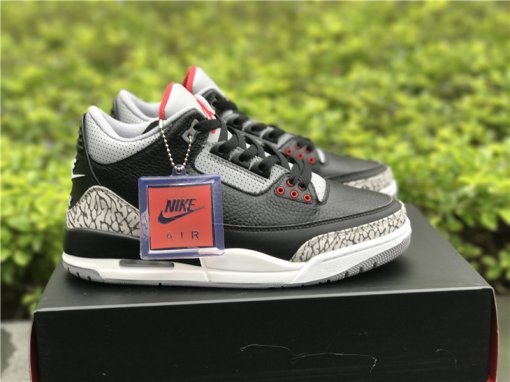 "Air Jordan 3 OG ""Black Cement"" size 8-13"