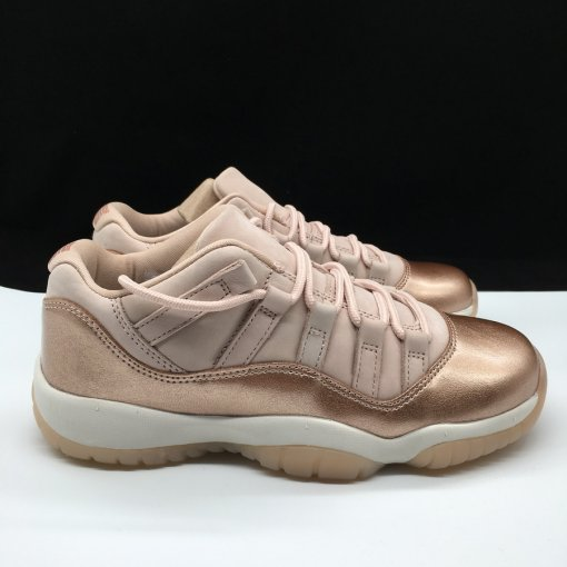 "Air Jordan 11 Low GS ""Rose Gold"" women size 5-9"