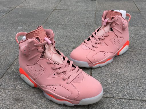 "Air Jordan 6 ""Millennial Pink"" men 7.5-13"
