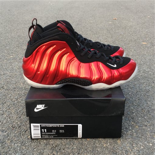 "Nike Air Foamposite One ""Metallic Red"" size 8-12"