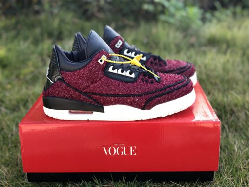 "Vogue x Air Jordan 3 ""AWOK"" men size 7-13"