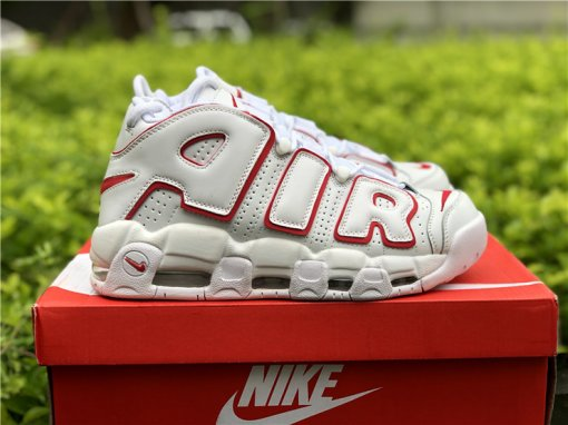 Nike Air More Uptempo white red size 7-11