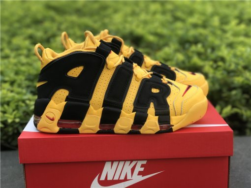 Nike Air More Uptempo yellow black size 7-11