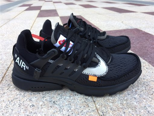 OFF WHITE Nike Presto all black men size 7-12