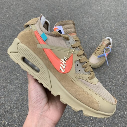 "OFF-WHITE x Nike Air Max 90 ""Desert Ore SIZE 5.5-12"
