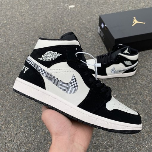 "Air Jordan 1 Mid BHM ""EQUALITY"""
