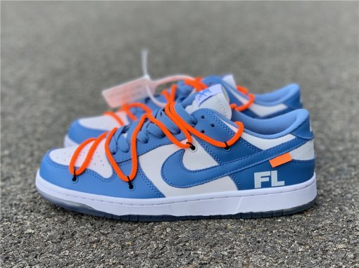 OFF-WHITE x Futura x Nike SB Dunk Low