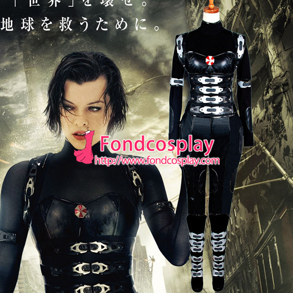 Us 584 Resident Evil Retribution Alice Costume Movie Cosplay