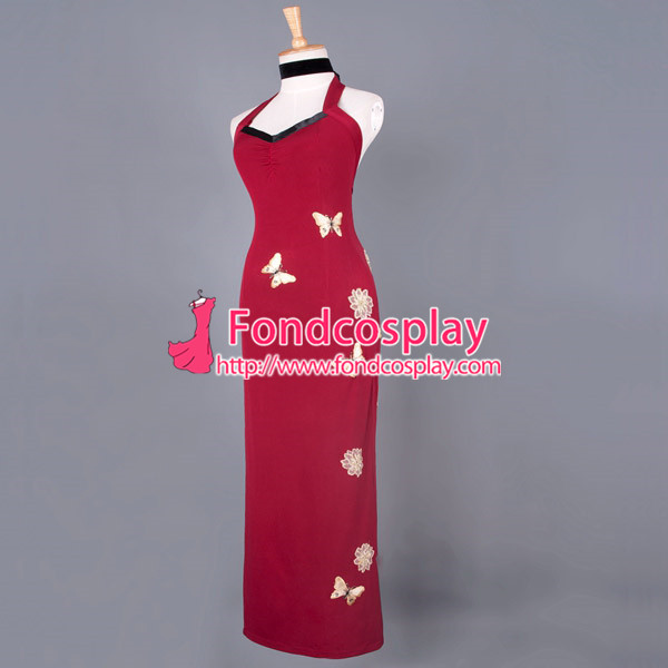 Resident Evil 6 Ada Wong Cosplay Costume Tailor Made