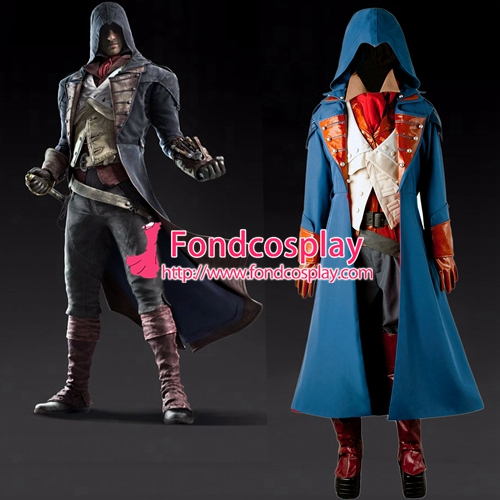 Us 269 91 Assassin S Creed Unity Arno Outfit Cosplay Costume