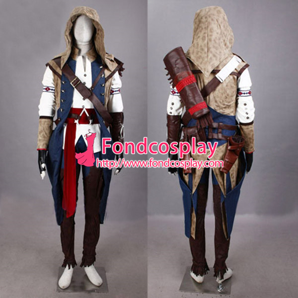 Us 217 7 Assassins Creed Iii Connor Kenway Outfit Cosplay