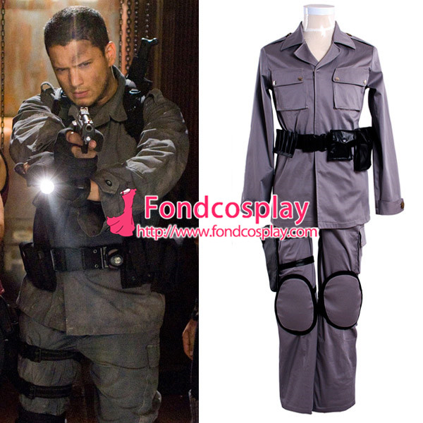 Us 128 6 Resident Evil Afterlife Chris Redfield Costume Movie Costume Cosplay Tailor Made G550 M Fondcosplay Com
