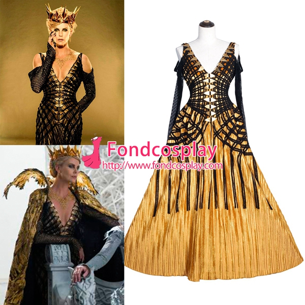 Us 189 91 Snow White And The Huntsman The Evil Queen Cosplay Costume Tailor Made G3973 M Fondcosplay Com