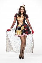Traditional costumes(Crown Coat Dress Gloves)