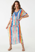 Colorful Long Beach Dress