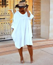 Lovely loose shirt, Cuff Dress