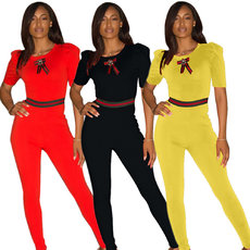Fashion casual tight Jumpsuit