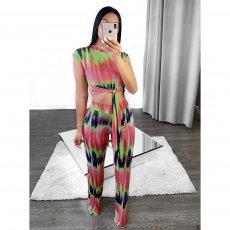 Gradient Printing Two-piece Set