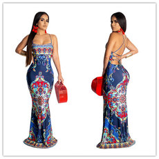Fashion Ethnic Wind Printed Dresses