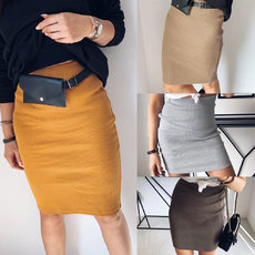 Leisure Sexy Women's One-Step Skirt