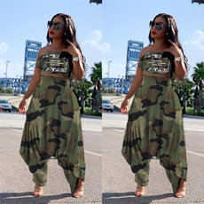 Hallen Trousers Camouflage Two-piece Set