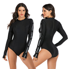 Long-sleeved swimsuit