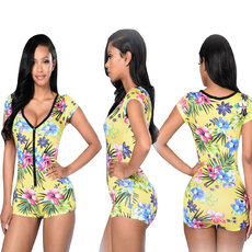 Fashion Trend Leisure Printed Jumpsuits