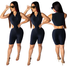 Fashion casual sleeveless Jumpsuits