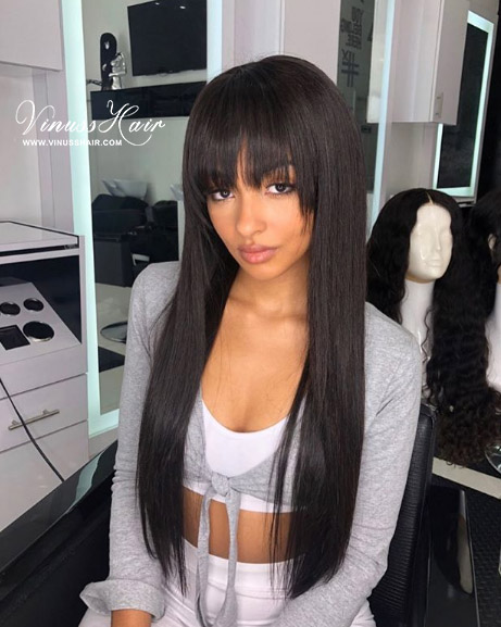 US$ 145 - Vinuss Full Lace Wig Straight With
