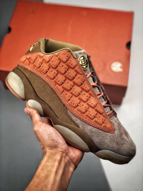 "outlet store ba89d acd73 CLOT x Air Jordan 13 Low ""Terracotta"""