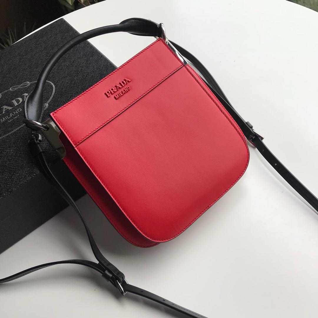 a948e3879ff588 Prada Margit Leather Shoulder Bag