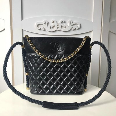 4b4c4b75c6cf Chanel Crumpled Calfskin hobo handbag KK88 9042371