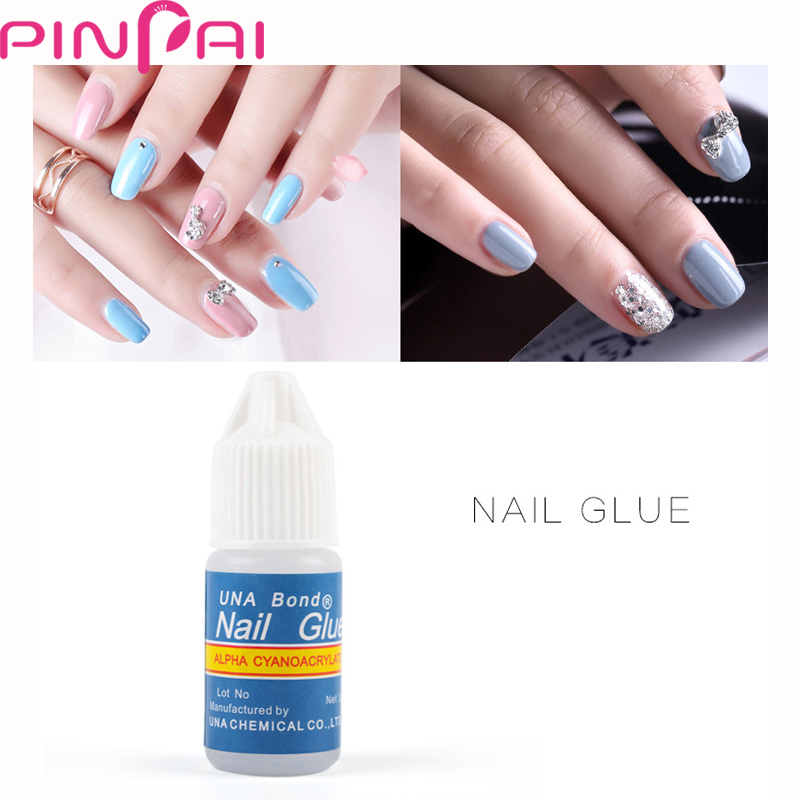 Nail Art 8ml Rhinestone Glue Gel Adhesive Resin Gem Jewelry Diamond ...