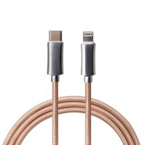 Zinc Alloy PD Fast Charge USB C Lightning Cable for iPhone