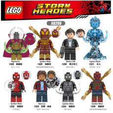 【In Stock】Personal Custom Compatible with LEGO Spiderman Movie