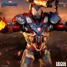 【Pre order】​Iron Patriot & Rocket BDS Art Scale 1/10 - Avengers: Endgame Deposit