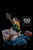 【In Stock】CO Signature DC Fat Aquaman Chubby Mum Mum Resin Statue