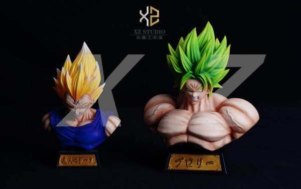 【Pre order】XZ Studio Dragon Ball Super Broly Bust Resin Statue Deposit
