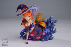 【Pre order】Little Love Studio One Piece Kitty Witch Nami SD Resin Statue Deposit