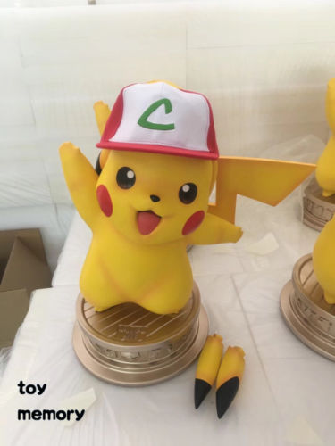 Pocket Godio Pikachu 1//1 Full Body Image Figure PVC Statue In Stock