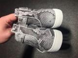 Red Bottom Sneaker Christian Louboutin Python High Top Men Shoes